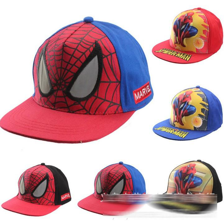 44595fab541 2019 Fashion Spiderman Base Ball Caps Cartoon Spider Man Children Boys  Girls Hats Kids Cap Hat Street Style 2015 Casual Sport 5 Styles D4656 From  Lovebaby99 ...