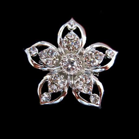 Mix дизайн блестящие посеребренные прозрачный кристалл горный хрусталь небольшой размер броши и булавки для ювелирных изделий букет