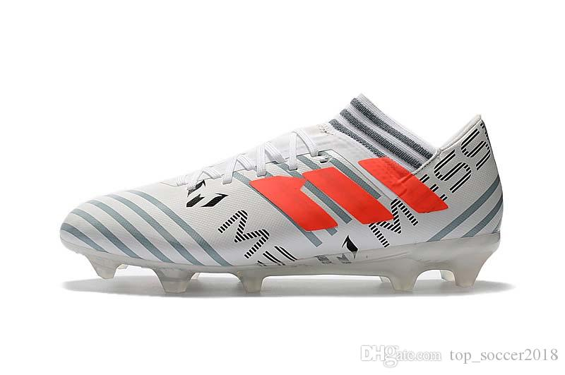 Top Quality 100% Original Messi Soccer Cleats Nemeziz 17.1 360Agility Gold Black Yellow White Soccer Shoes ACE 17+ Messi Football Boots discount real xUsa1HtDlI
