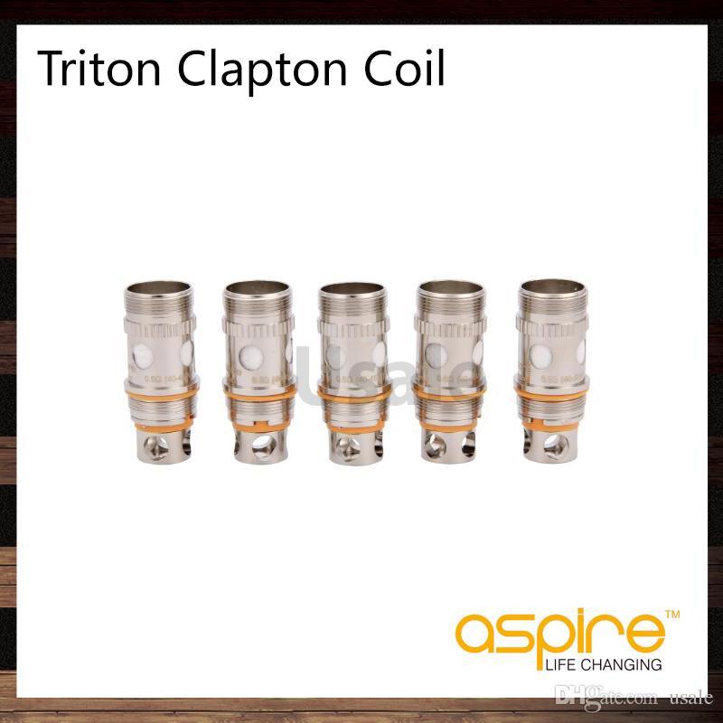 Aspire Triton 2 0.5 ohm Clapton coils Replacement Coil head for Triton 2 Tank Atlantis Atomizer 100% Original