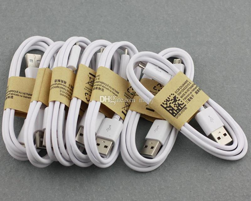 USB Cables Charging Cord Charger Wire Data Sync Charging USB Cable Cord for Android Cellphone without Package