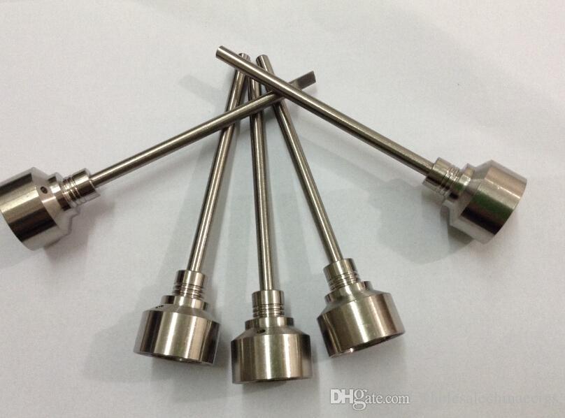 Titanium carb cap nail titanium Ti Nail 18mm Male Female&Carb Cap Dabber Grade 2 VS Ceramic Nails Quartz Nai Glass water pipe bong