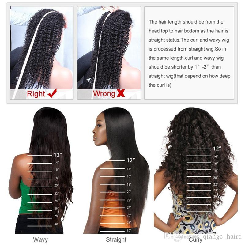 Top Quality Glueless Lace Front Human Hair Wigs For Black Women Brazilian Virgin Human Hair Straight Full Lace Wig Baby Hair