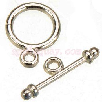 300 قطع جديد diy الأزياء الحرفية الاكسسوارات المعدنية ot خمر الفضة جولة صغيرة تبديل السنانير المجوهرات المشابك ل أساور 13 * 10 ملليمتر