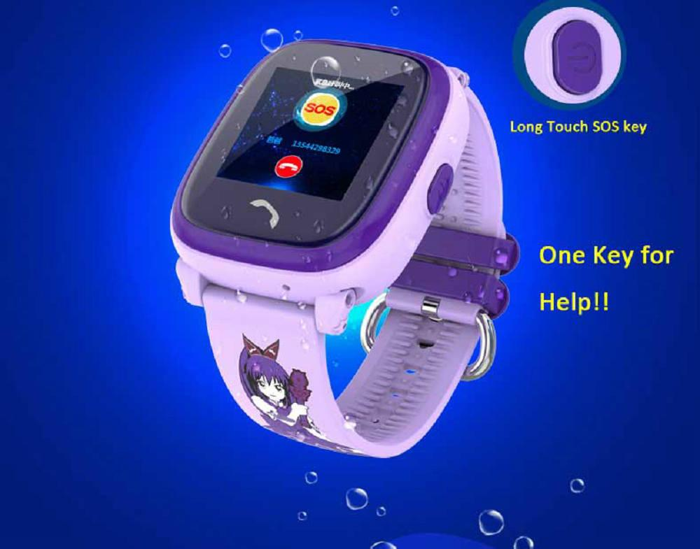 Waterproof DF25 Child Bluetooth Smartwatch with GPS LBS for iPhone IOS Android Smart Phone Wear Clock Wearable Device Smart Watch