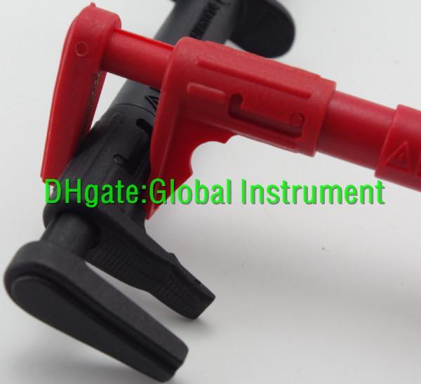 Test Lead Heavy Duty Bus Bar Clip Set Test probe fit FLUKE-AC87