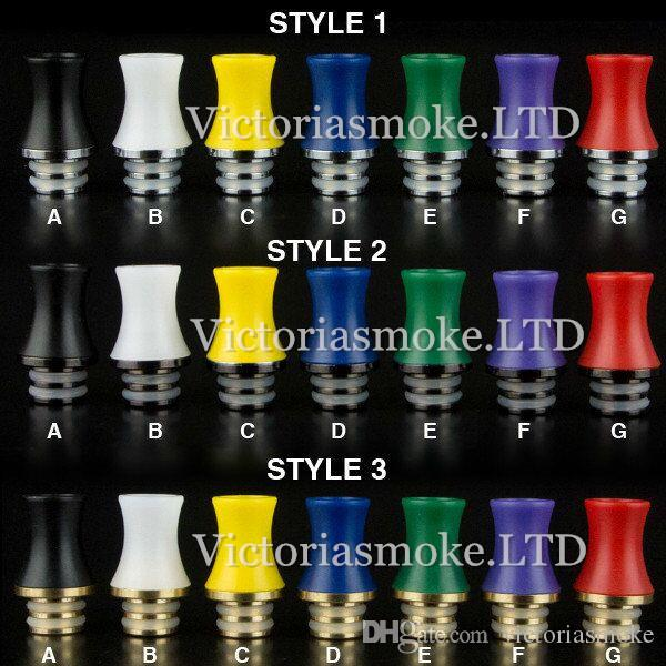 Newest Stingray Drip Tips 510 Wide Bore plastic Drip Tip ego atomizer mouthpieces for ce4 dct rda e cig mechanical mods Victoriasmoke.LTD