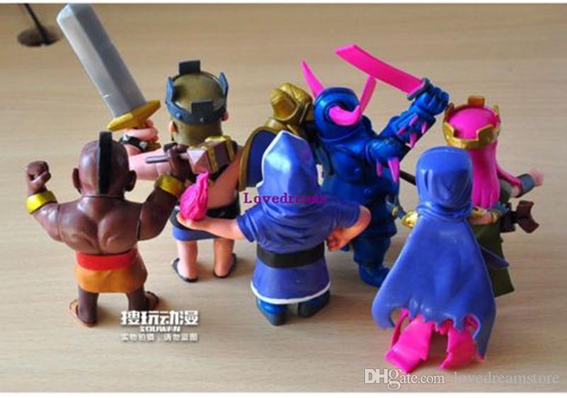 2017 Hot 8 pçs / set Jogo Figura brinquedos modelo de jogo de telefone Bonecas Presentes Para Amigos