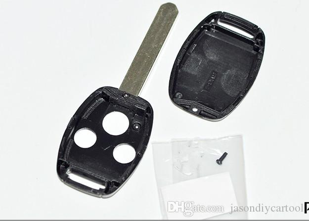 Blank Shell for Honda Accord CRV FIT Odyssey CIVIC new models Remote Key 3 Button