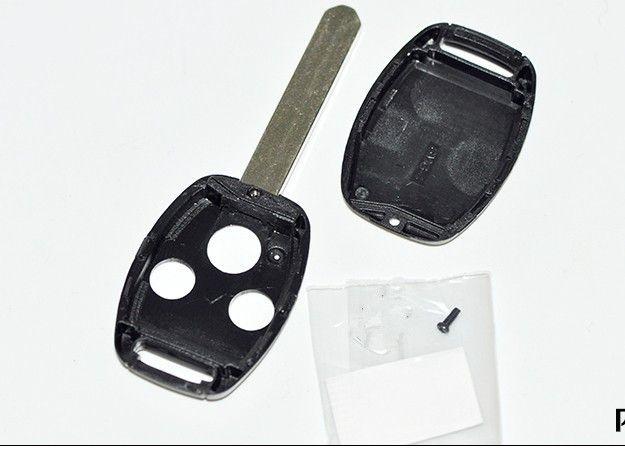 Заготовка для Honda Accord CRV FIT Odyssey CIVIC новых моделей с дистанционным ключом 3 кнопки