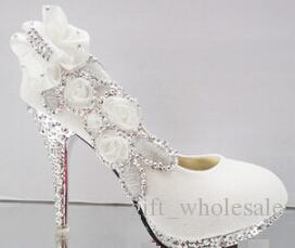 Fashion heels waterproof Shoes wedding shoes Bridal Shoes in stock