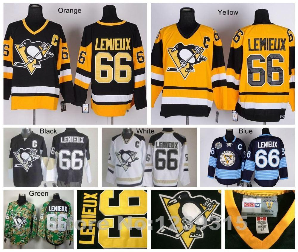 755fa5db3 ... authentic throwback jersey a9ada dce58 greece 2018 factory outlet pittsburgh  penguins ice hockey jerseys 66 mario lemieux jersey vintage black throwback