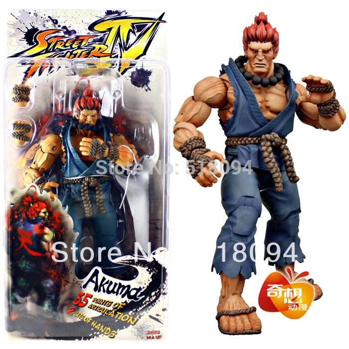 Free Shipping Select Street Fighter IV Survival Model