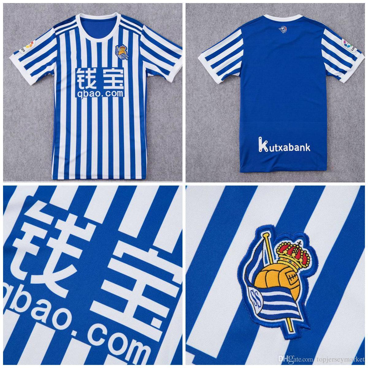 camisetas de futbol Real Sociedad venta