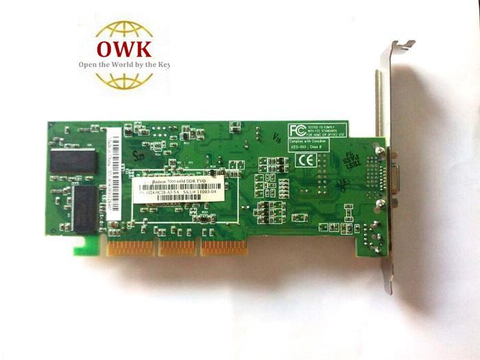 OWK شحن مجاني ATI Radeon 7000 64M DDR VGA / TVO AGP من المصنع