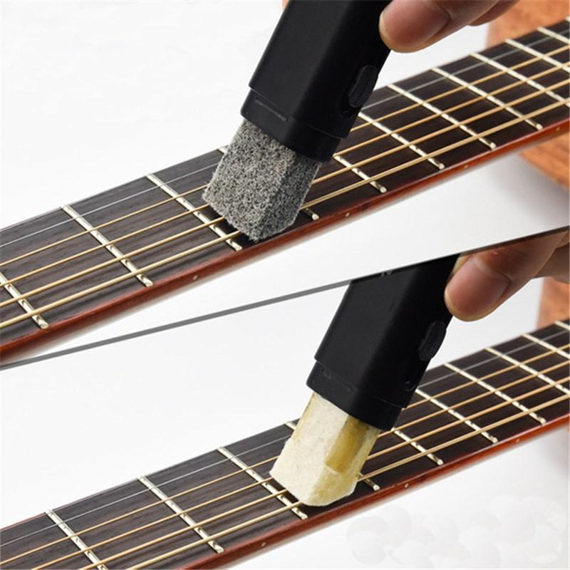 Guitar Parts & Accessories Arrival Electric Guitar Bass Strings Scrubber Fingerboard Rub Cleaning Tool Maintenance Care Bass Cleaner Guitar Accessories Stringed Instruments