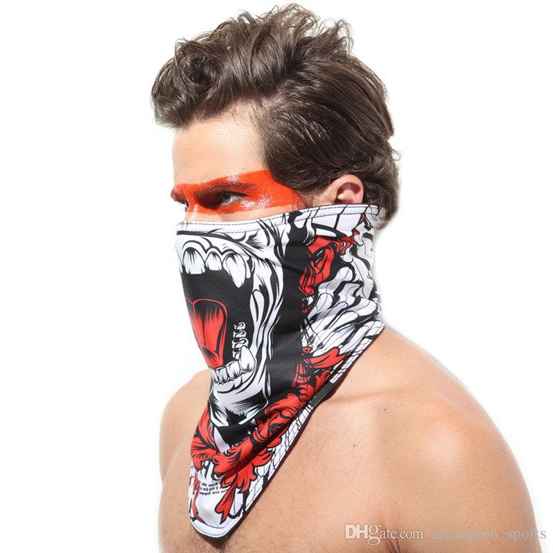 Best 2016 Face Guard Face Mask Skull Multi Bandana Bike