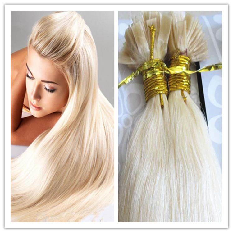Cheap Pre Bonded Hair 8a Flat Tip Hair Extensions 100 Virgin Remy