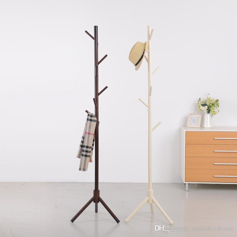 Exceptionnel 2018 Good Quantity Simply Coat Rack Wood Hanger Floor Hanger Bedroom Living  Room Fashion Modern Stand Clothes Rack From Alphahoohome, $71.61 |  Dhgate.Com