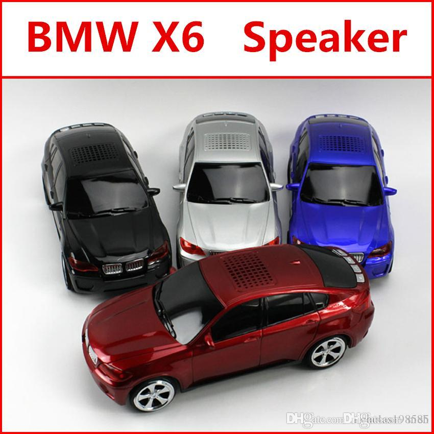 For x6 car model car style car design speakers mini portable for x6 car model car style car design speakers mini portable support tf card u disk subwoofers soundbar with screen for smart phones tablet speaker wireless keyboard keysfo Image collections
