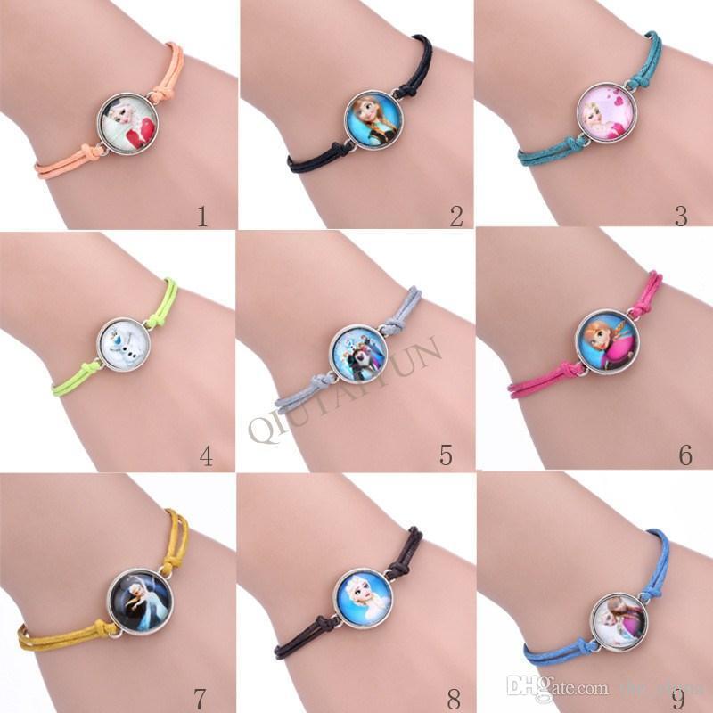 Frozen Elsa Anna Chain Bracelet Hand Catenary DIY Bracelets For ...