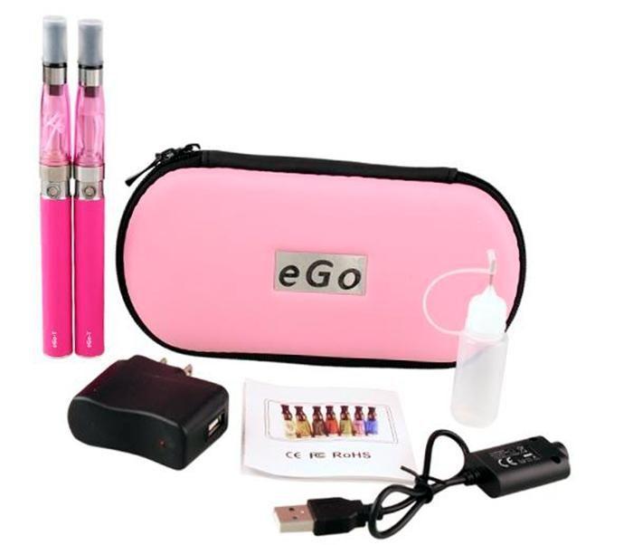 CE4 doppio kit eGo zipper case starter kit e cigs sigaretta elettronica CE4 atomizzatore 650mah 900mah 1100 mah batteria cig vapor vaporizzatore