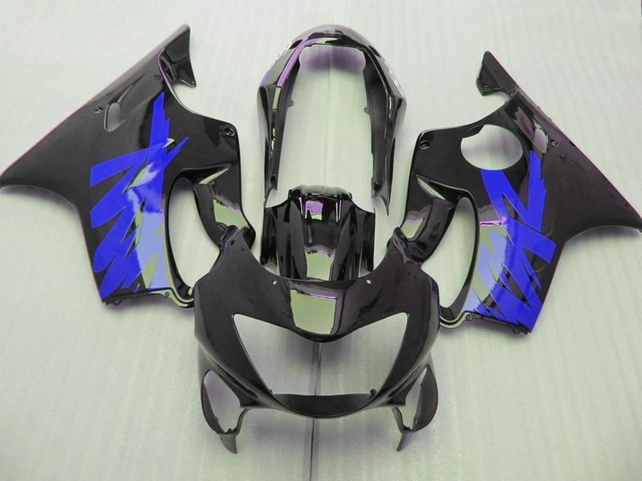 Brand dark blue black Body parts Fitment for Honda CBR 600 F4 custom fairings 1999 2000 fairing kit CBR600 F4 99 00 CTSA