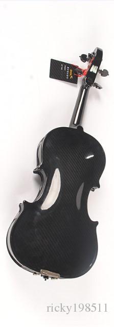 Fibre de carbone Matériau Dos / Côté et fibre de carbone Matériau de face Haute qualité Violon 100% fibre de carbone