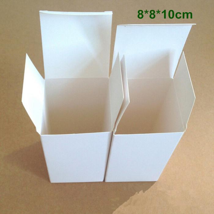 DHL 8810cm DIY White Cardboard Paper Box