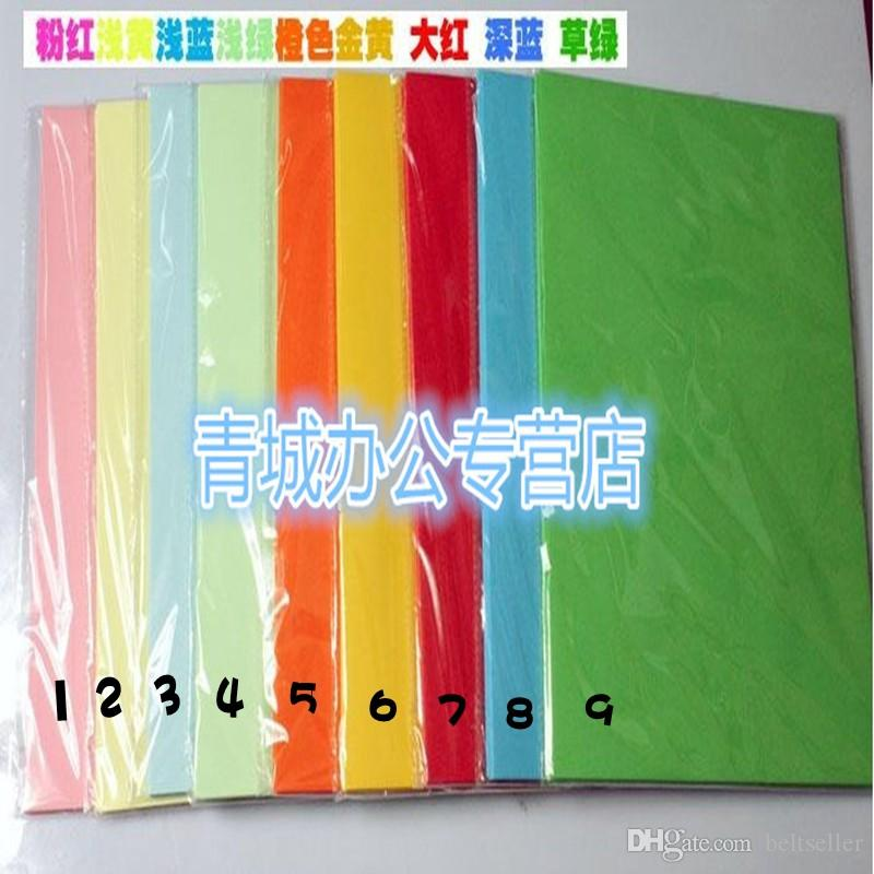 Colorful 210MM*297MM 80g A4 Paper Nature Pure Wood Printing Paper Copy Paper Fax Paper for Printer Computer Machine office supply