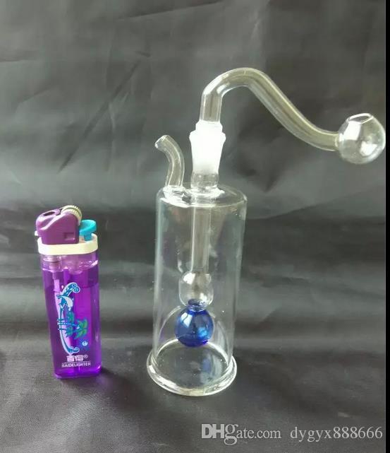 Barato clásico pequeño pote, variedad, estilo entrega al azar, enviar accesorios completos, cachimba de cristal al por mayor, envío libre, grande mejor