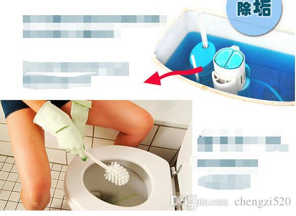 보물 청소기 깨끗한 화장실 정신 화장실 공 파란색 거품 화장실 탈취 보물