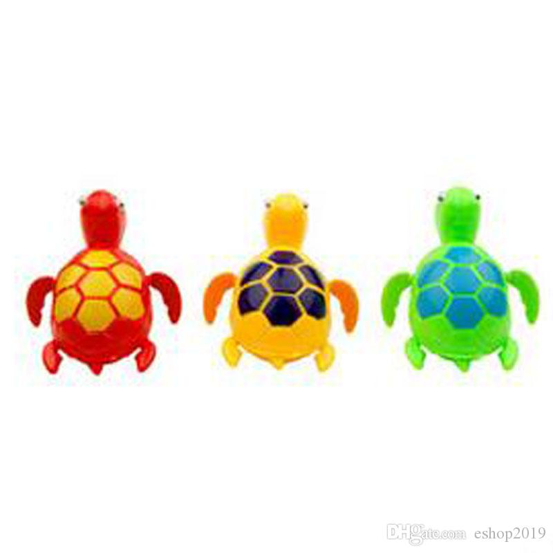 New Wind up Swimming Funny Turtle Turtles Pool Animal Toys For Baby Kids Bath Time C204