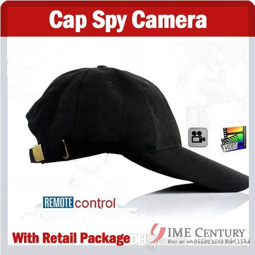 baseball cap camera mount hidden spy fashion hd