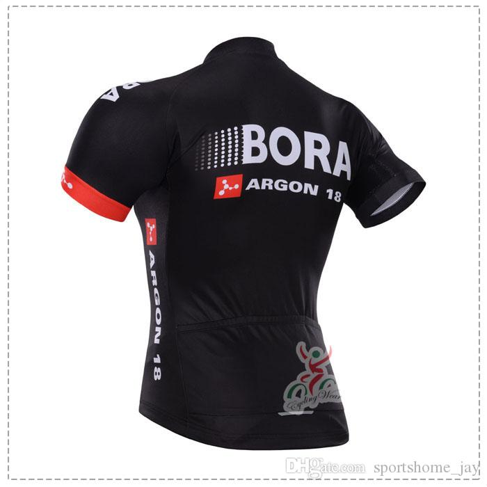 Neu kommen 2015 Bora Pro Team Radtrikot Bib Kurze Hosen Mit Gel Pad Ropa de Ciclismo Maillot Fahrradbekleidung Fahrradbekleidung Set