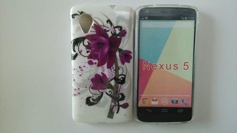Retro Radio Flower Case For Google LG Nexus 5 Silicon Radio Mobile Phone Case