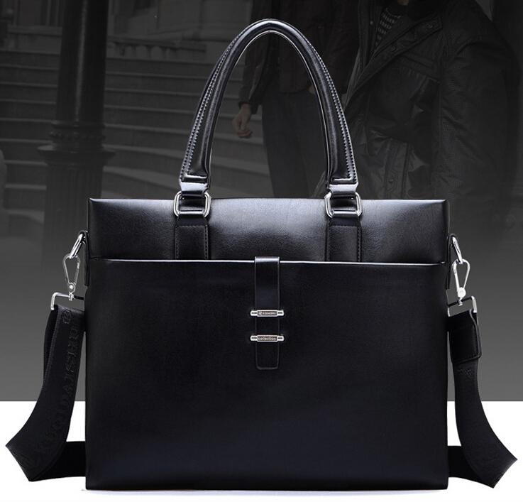 Mens Briefcase Mens Leather Bag Man Genuine Leather Bag Handbag ...