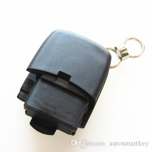 Auto remote key shell 3 button replacement keyless fob cover For old aud a2 a3 a4 CR2032 blank case