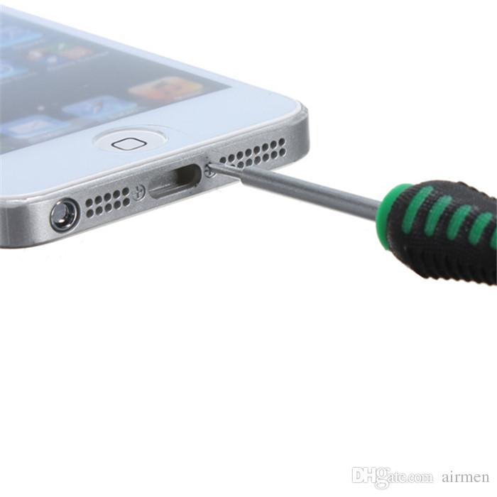 16 в 1 Открытие монтировку инструменты разборка телефон ремкомплект универсальный набор отверток для iPhone 4 4S 5 HTC Samsung примечание 4 S6 Nokia смартфон