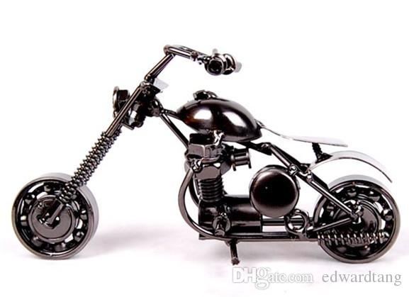 Iron Motorcycle Model Toy, Hand-made Arts and Crafts, Mini Size, Various Patterns, High Simulation, Kid' Gifts, Collecting, Home Decorations