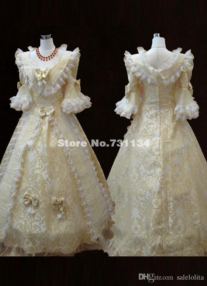 Brand New Custom Medieval Dress Renaissance Gothic Victorian Lolita ...