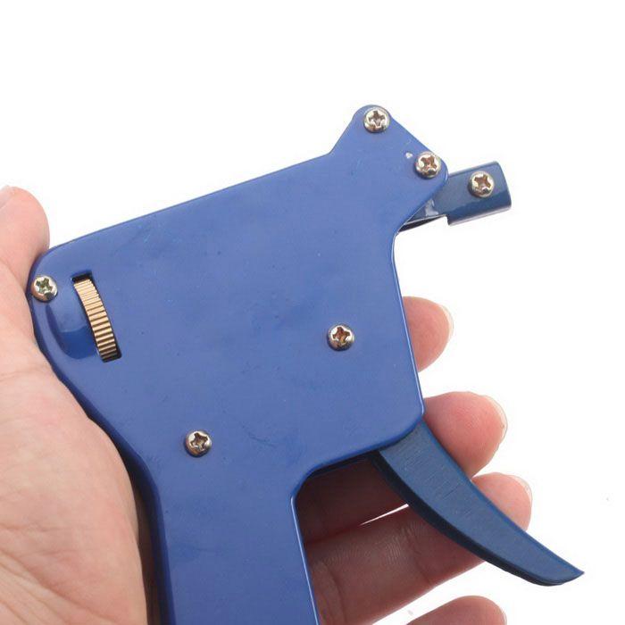 강한 자물쇠 따기 자물쇠 도구 도어 잠금 오프너 - 파랑 + 은색