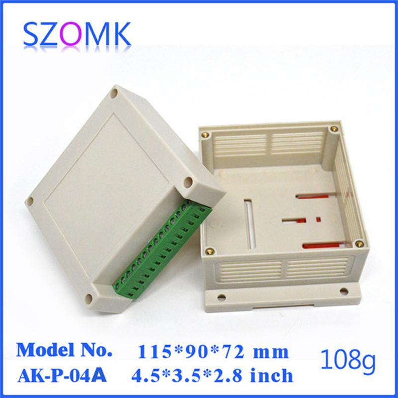 szomk plastic project box pcb enclosure 115 90 72mm electrical rh dhgate com