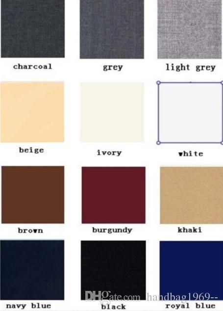 Neueste Design Ein Knopf-Schwarz-Bräutigam-Smoking Kerbe Revers Groomsmen Bester Mann Mens Hochzeitsanzüge Jacket + Pants + Vest + Tie D: 234