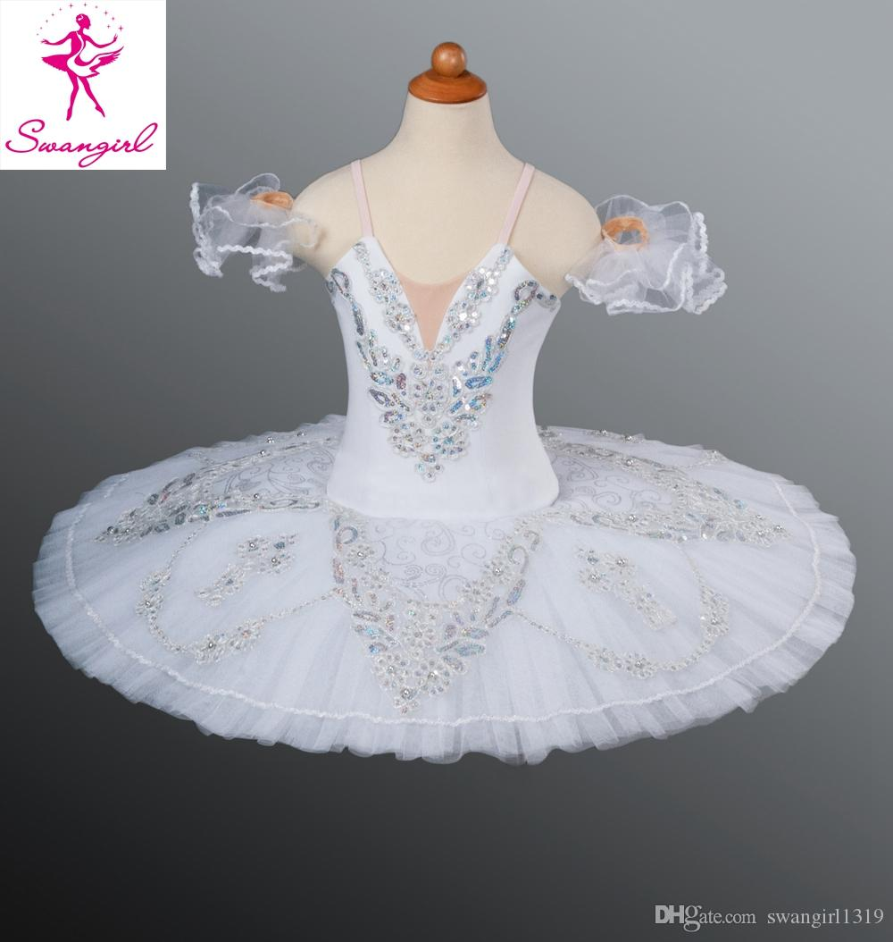 171f5874bd67 2019 Classical Ballet Tutu White Nutcracker Adult Women Kids Girls Size Ballet  Costume For Sale Snow Queen AT1046D From Swangirl1319, $175.68 | DHgate.Com