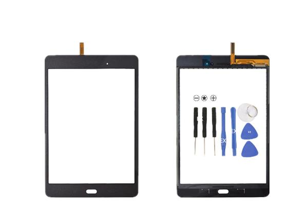 Touch Screen Digitizer Glass Lens with Tape for Samsung Galaxy Tab A 8.0 T350 T351 T355 New free tools