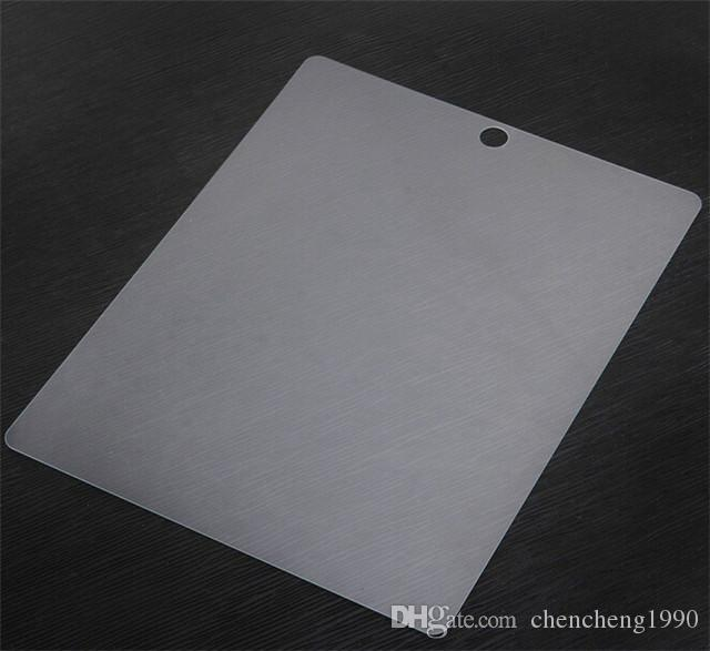 iPad 0.26mm 2.5D에 대 한 완벽 한 크기 ipad 공기 2 미니 2 3 4 무료 배송에 대 한 단련 된 전면 유리 화면 보호기 강화 된 필름