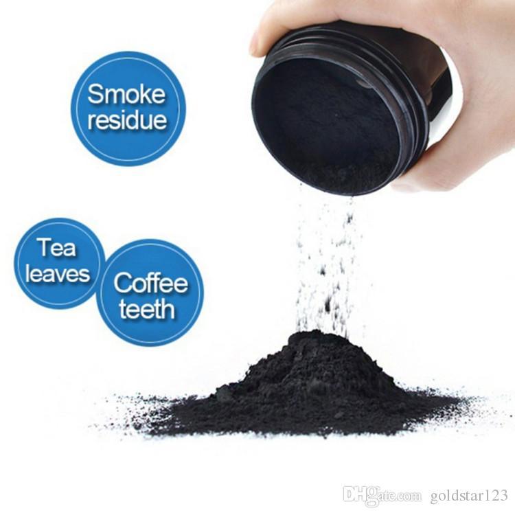 Schwarze Zähne Whitening Puder Natur Lächeln Puderdekontamination Zahn Gelb Fleck Bambus Zahnpasta Oral Care Kostenloser Versand