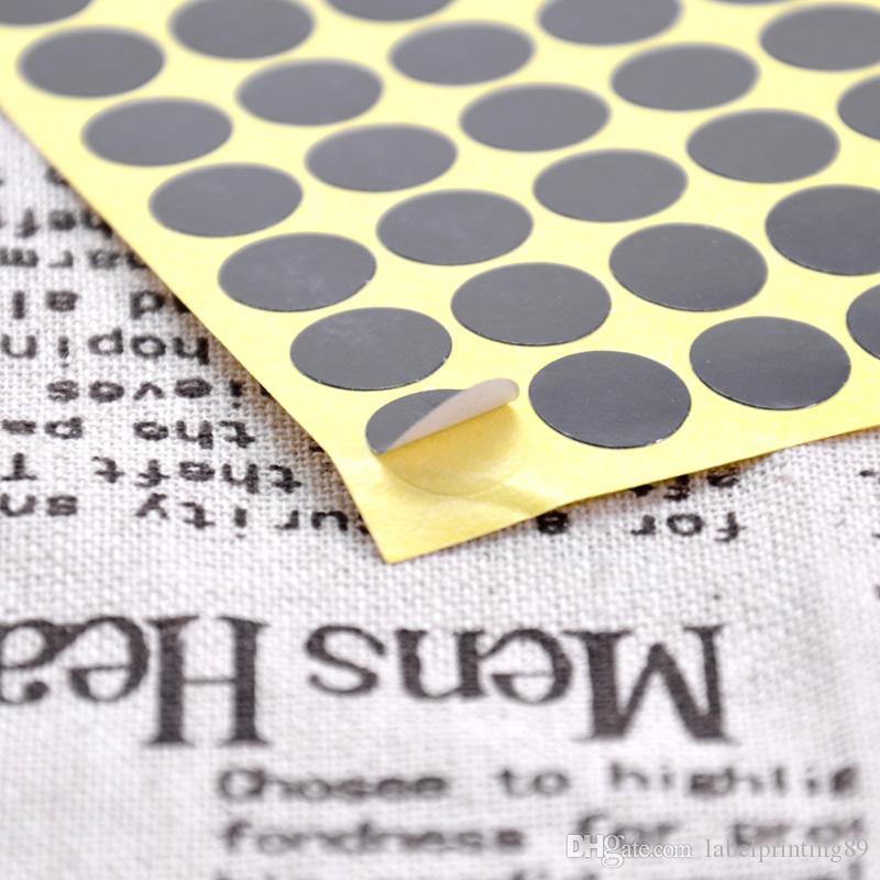1cm livraison gratuite stock couleur petit point rond bureau autocollant auto-adhésif sans impression
