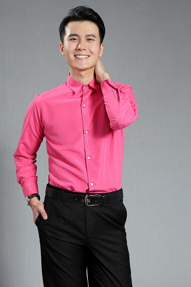 New 2015 Fuchsia Mens Wedding Shirts Normal Tuxedos Shirts ...